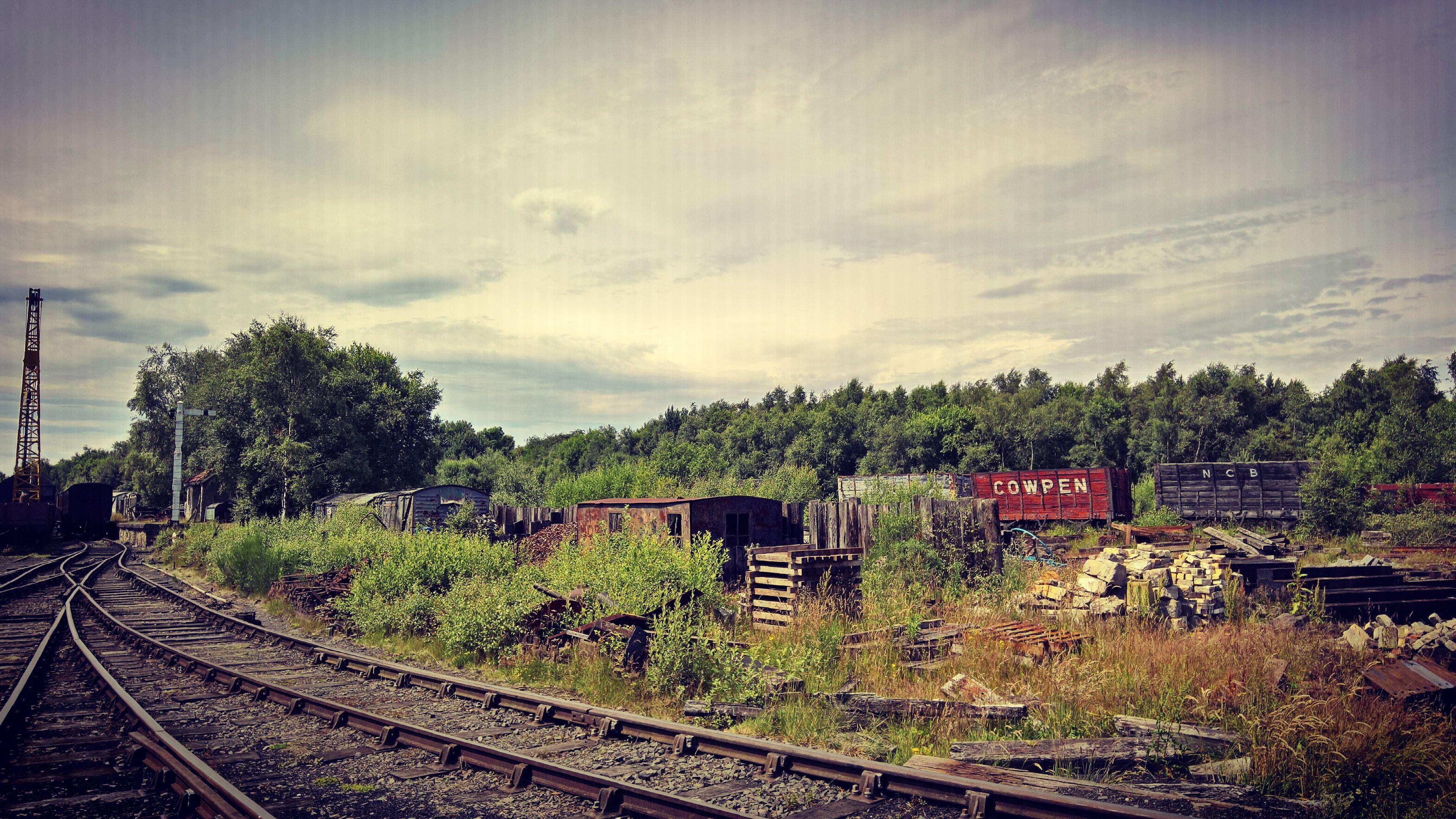 Tanfield Train Yard