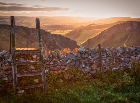 Fleeting Moments in the Peak District