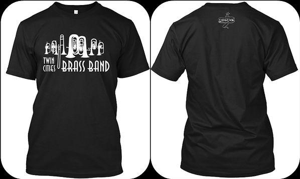 Twin Cities Brass Band t-shirt