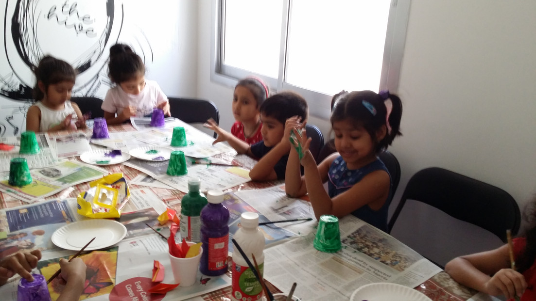 Art class at Hive