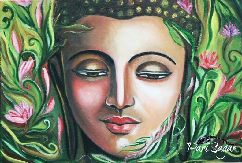 Buddha Water Lillies