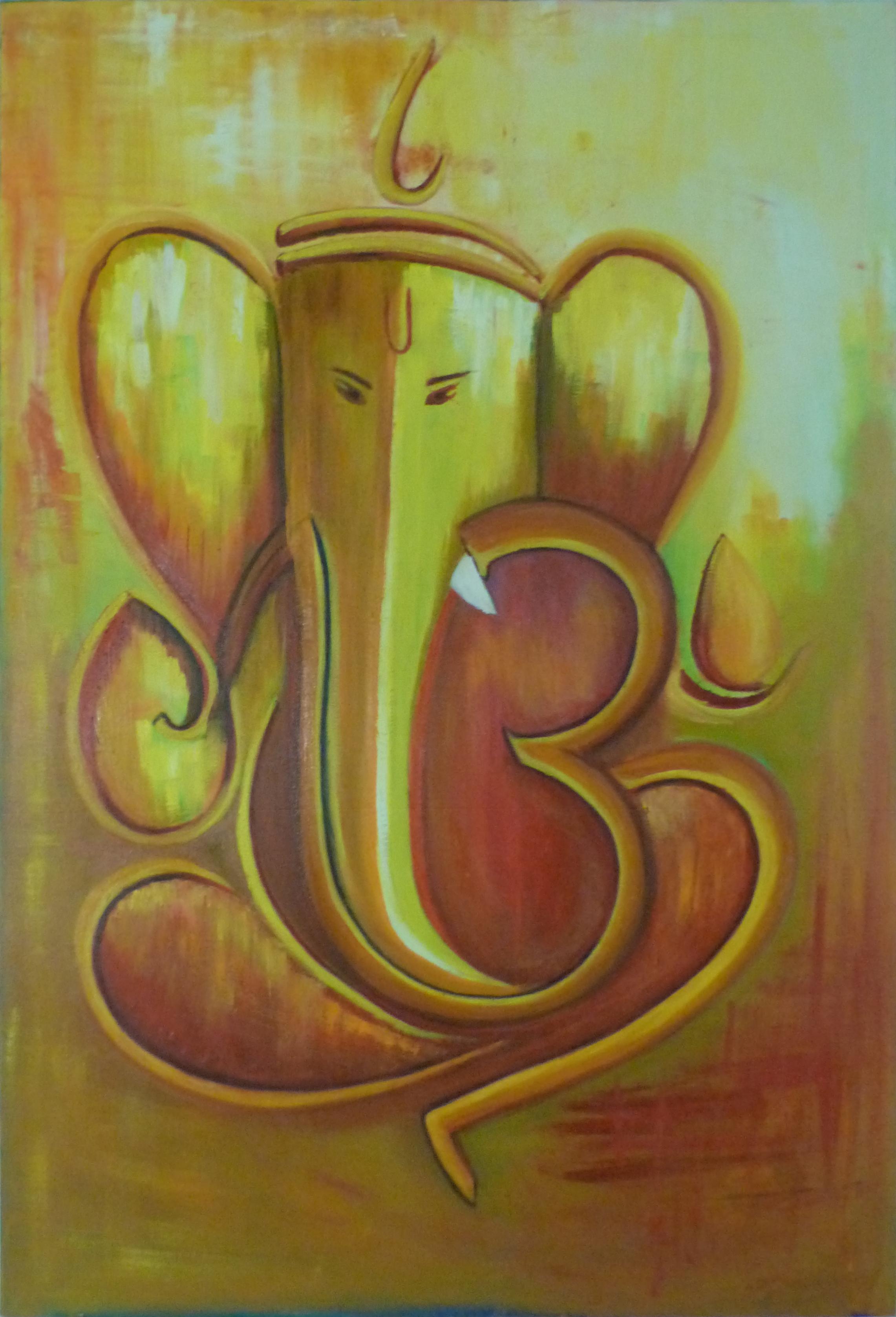 Calligraphy Ganesha