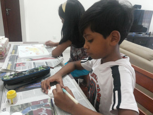 Classes are customised for each student depending on their skill level.