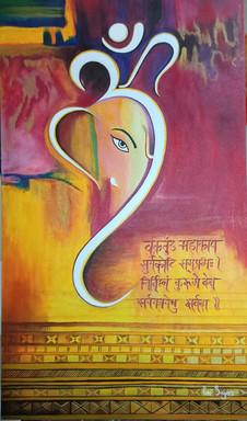 Om Ganeshay  Namah.