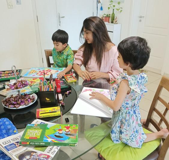 Privat Art Classes for Kids