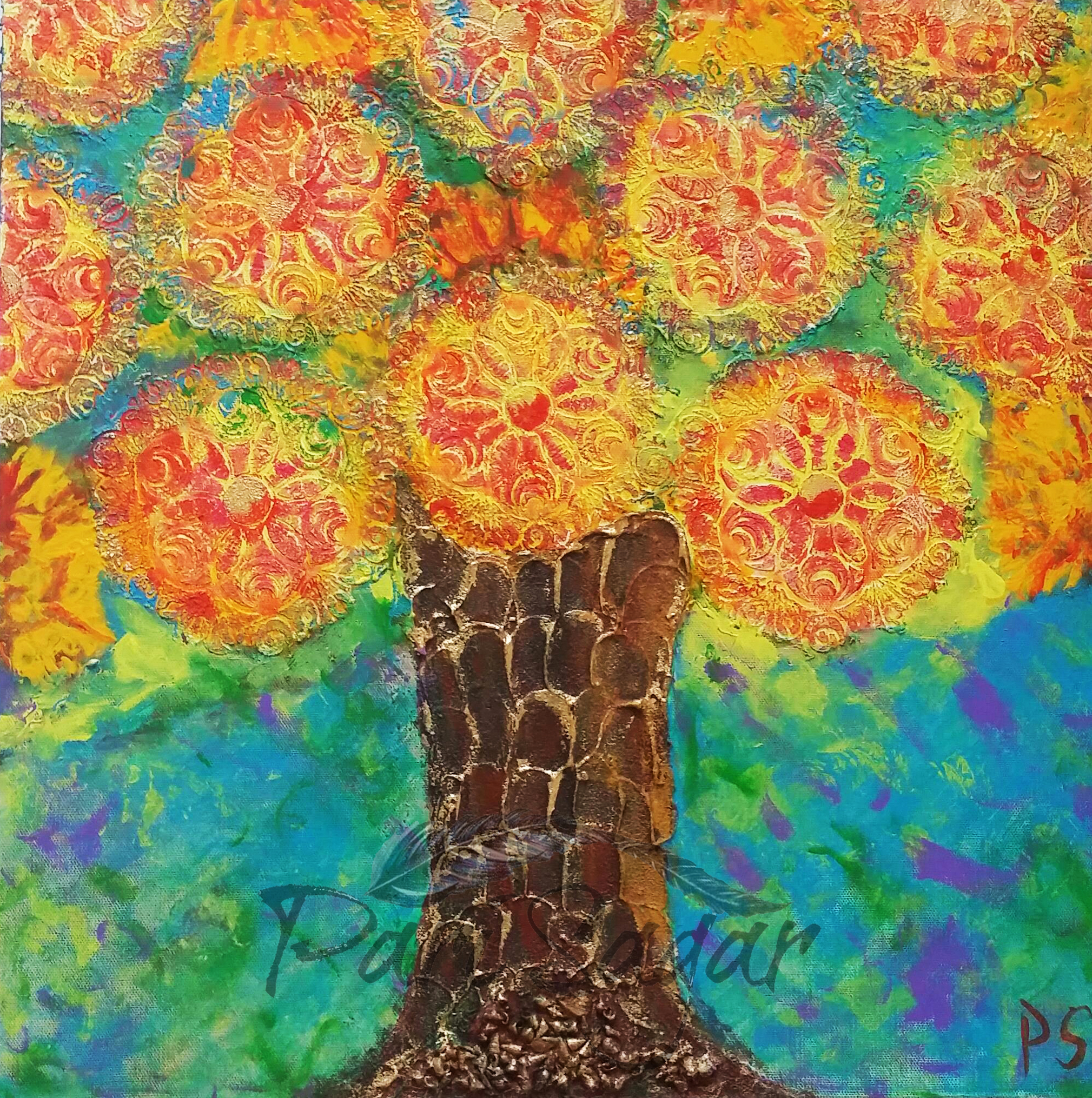 Tree of Prosperity(Sold)