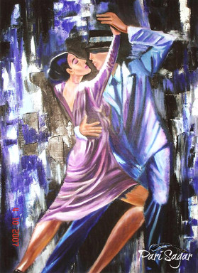 tango in blue (sold)