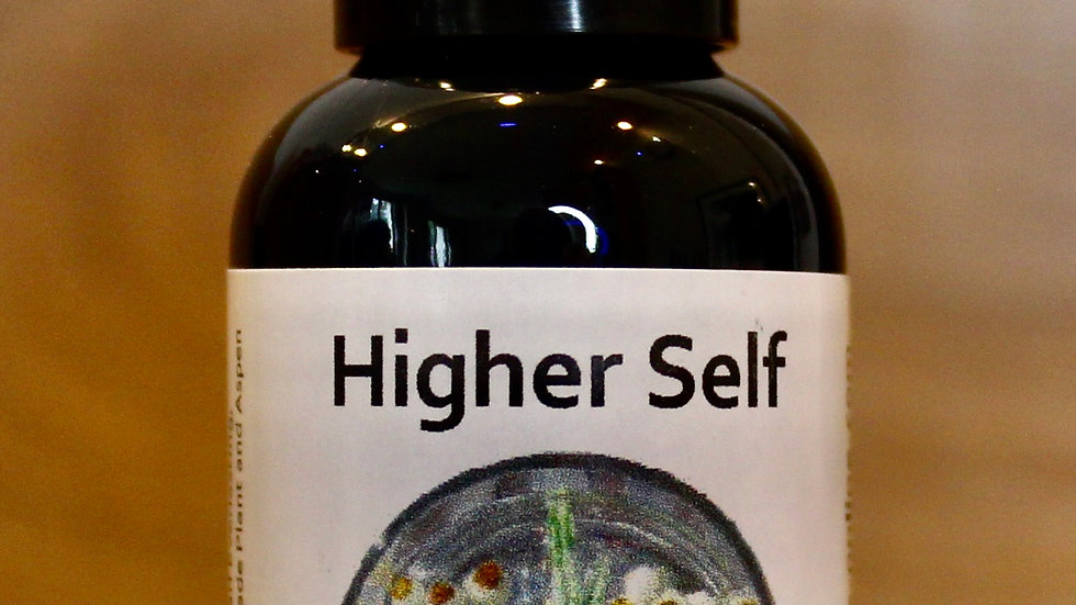 Higher Self Therapy Blended Flower Essence