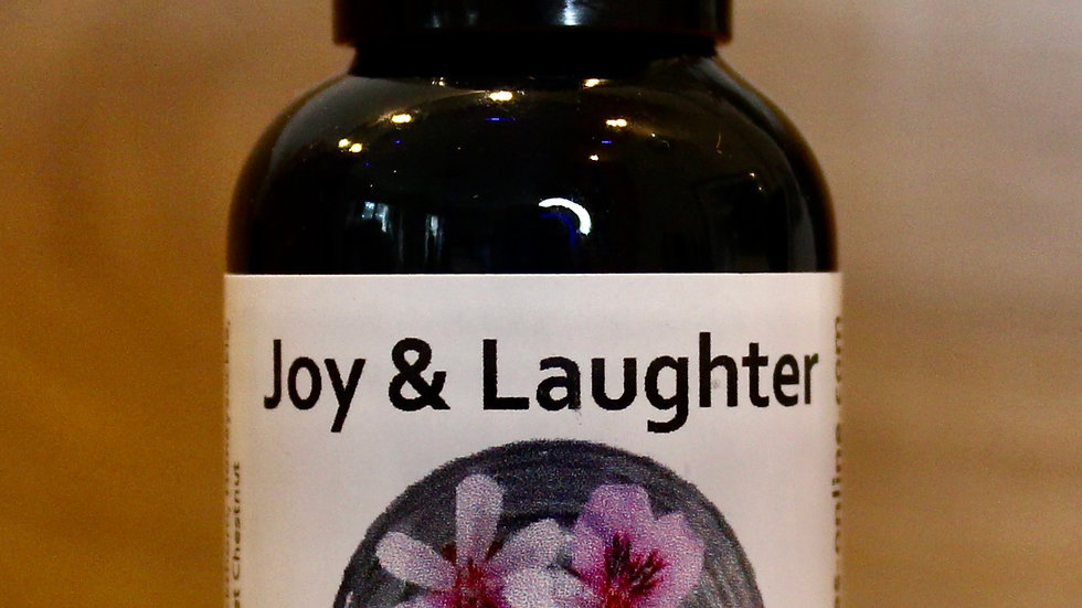 Joy and Laughter Therapy Blended Flower Essence