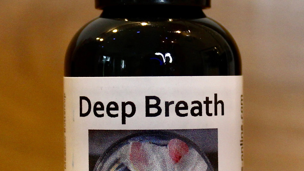 Deep Breath - Relax Therapy Blended Flower Essence