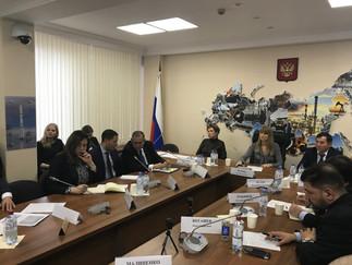 Заседание рабочей группы Комитета ГД по международным делам «Перезагрузка  российской внешнеполитиче