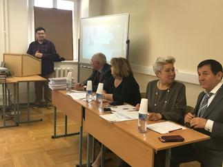 23 мая в ИСАА МГУ состоялись защиты магистерских диссертаций студентов единственной в России выпуска