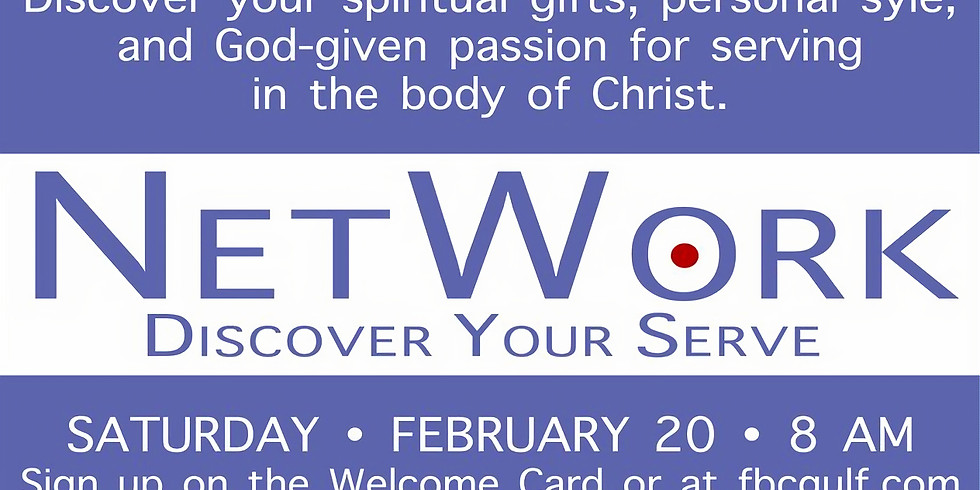 Network - Discover Your Serve