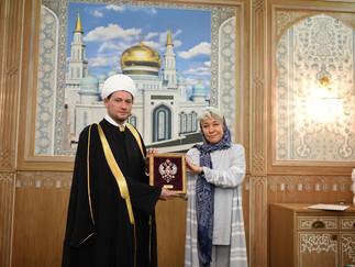Торжественная церемония вручения дипломов Московского исламского института