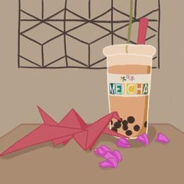 Meicha - Bubble Tea | Frame by Frame Animation