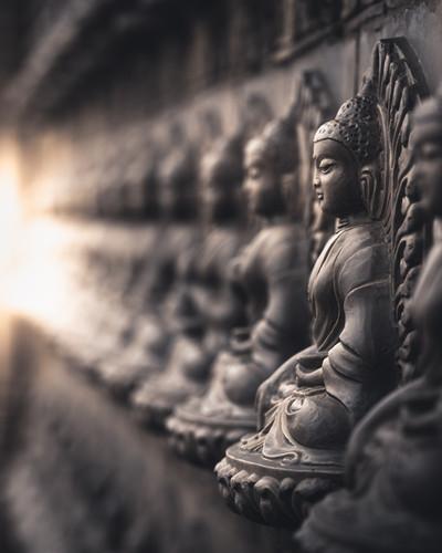 Kina, Buddha