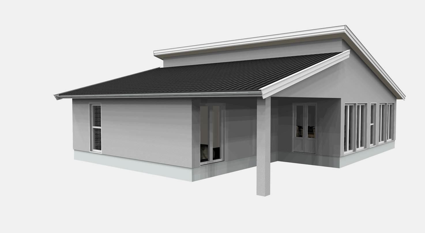 Nybyggnation, Villa med Loft