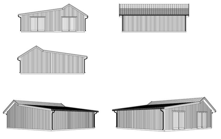 Garage, Utbyggnation