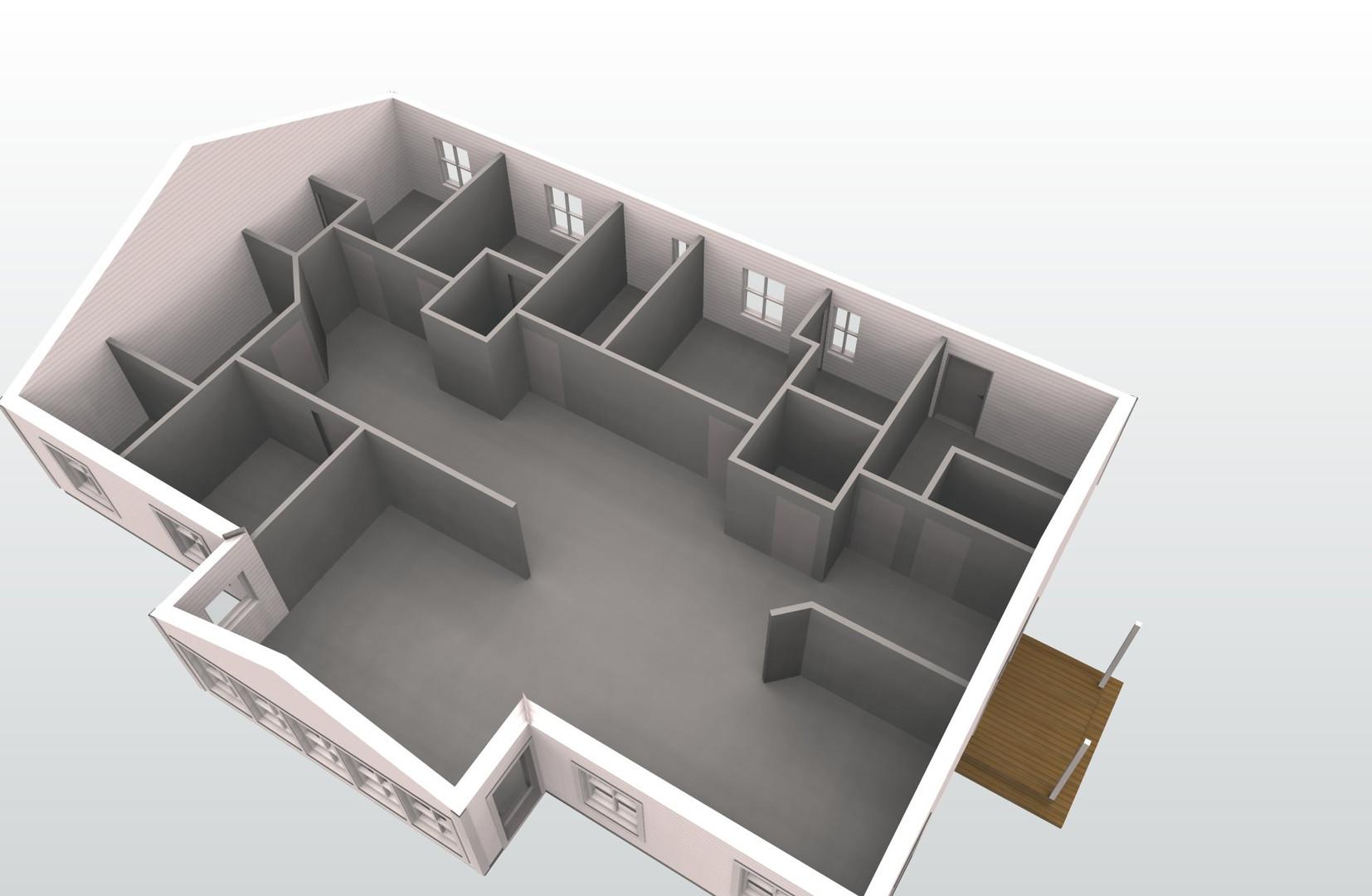 Utbyggnad av villa