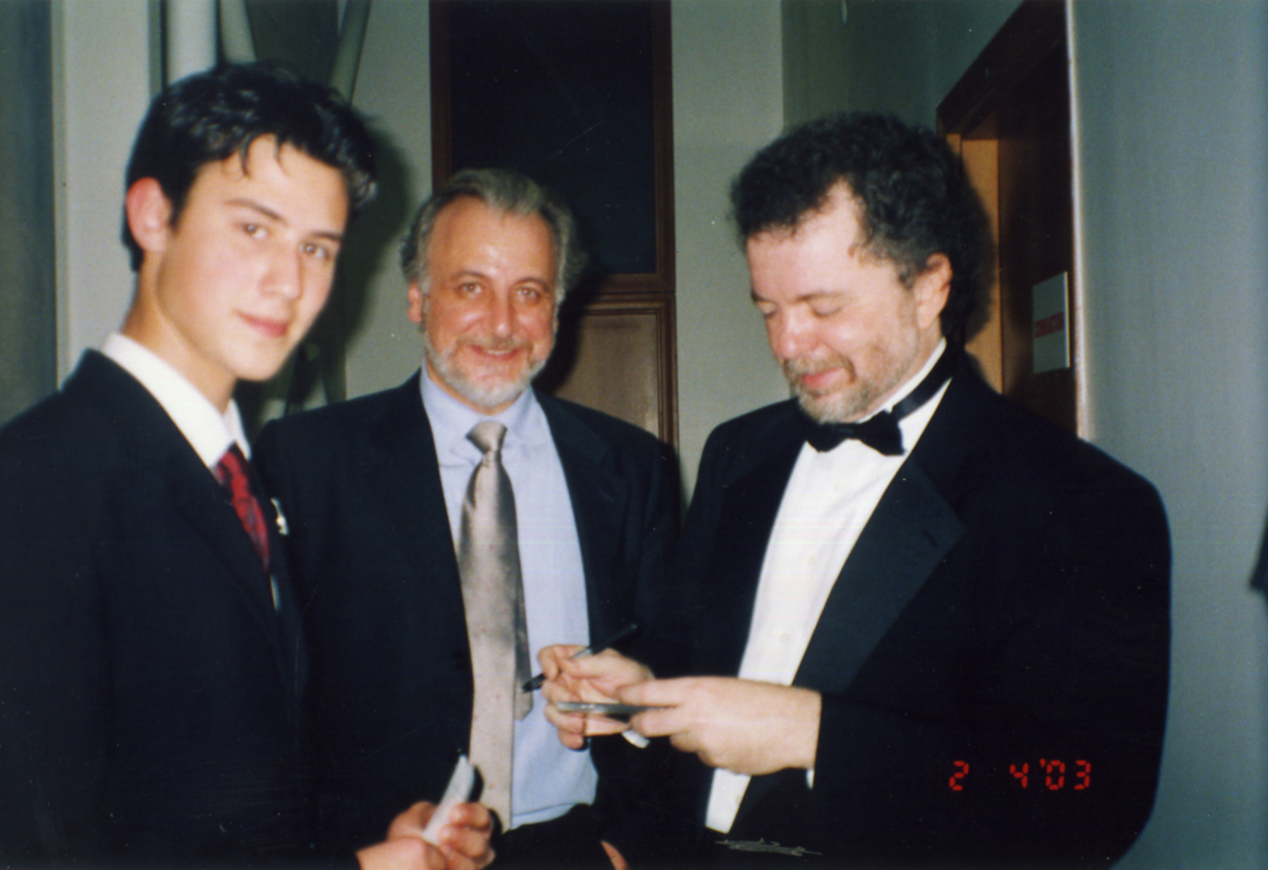 with Manuel Barrueco & Ahmet Kanneci