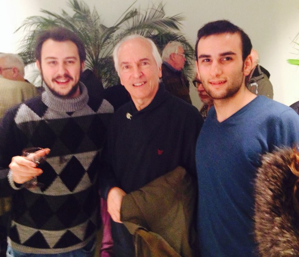 with John Williams &Vahan Sarkissian