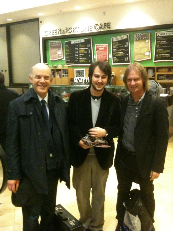 with Mr. Lewin & D. Russell.