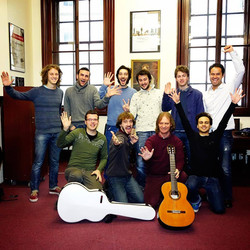 with D.Russell at RAM GuitarStudents