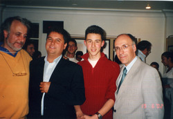with C.Bonell,A.Kanneci & J.G.Moreno