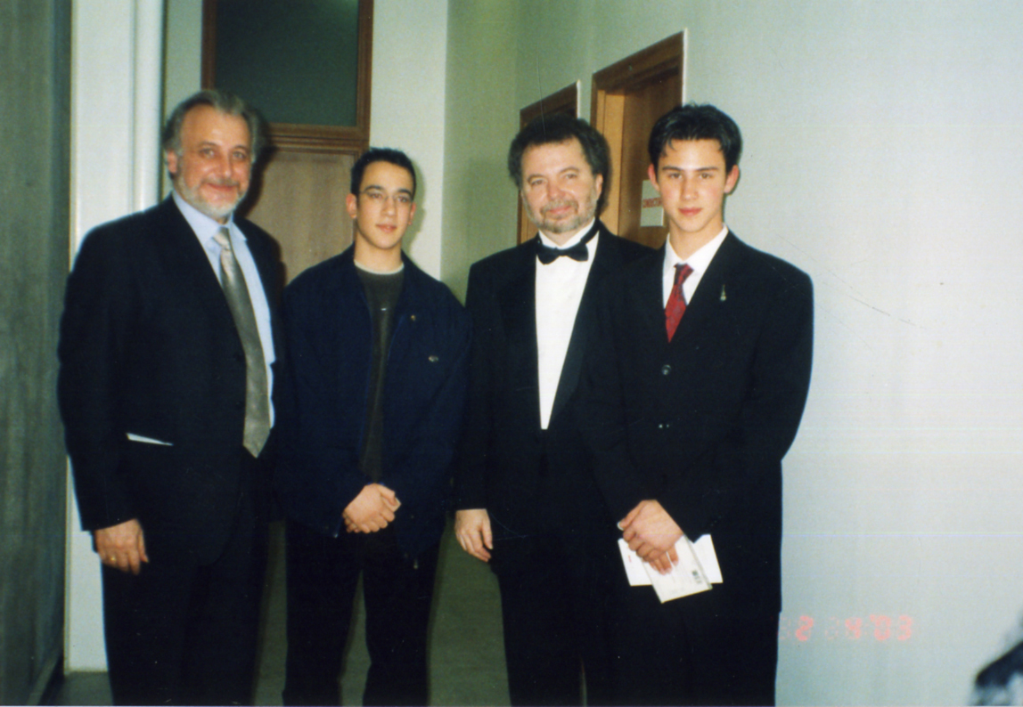 with M.Barrueco, A.Kanneci & E.Sualp