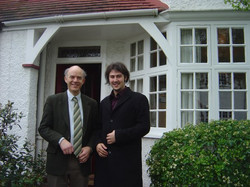 with Michael Lewin.
