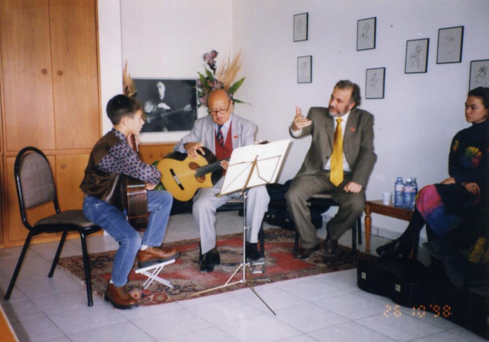 masterclass with Maestro Alirio Diaz