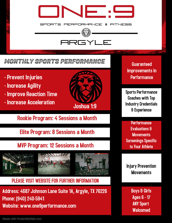 WEEKLY SPORTS PERFORMANCE - Made with Po