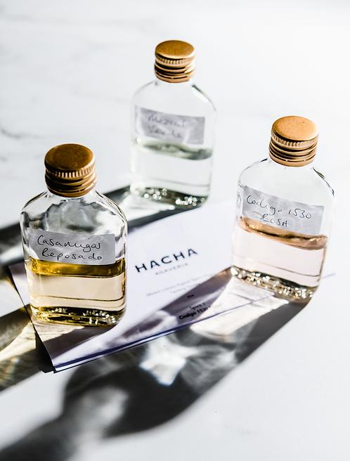 Luxury Agave Spirit Tasting Flight
