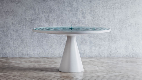 Rippling Table
