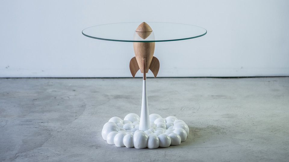 Single Rocket Table