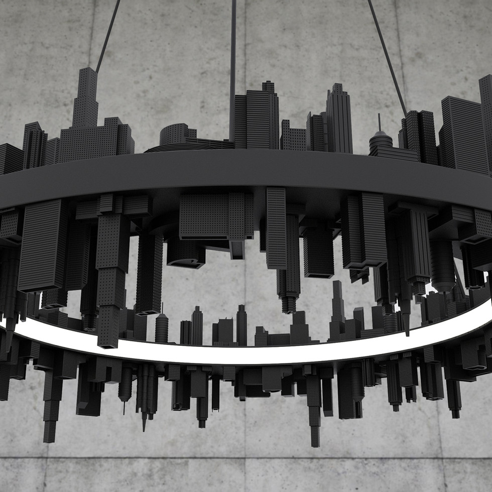 City Pendant Light