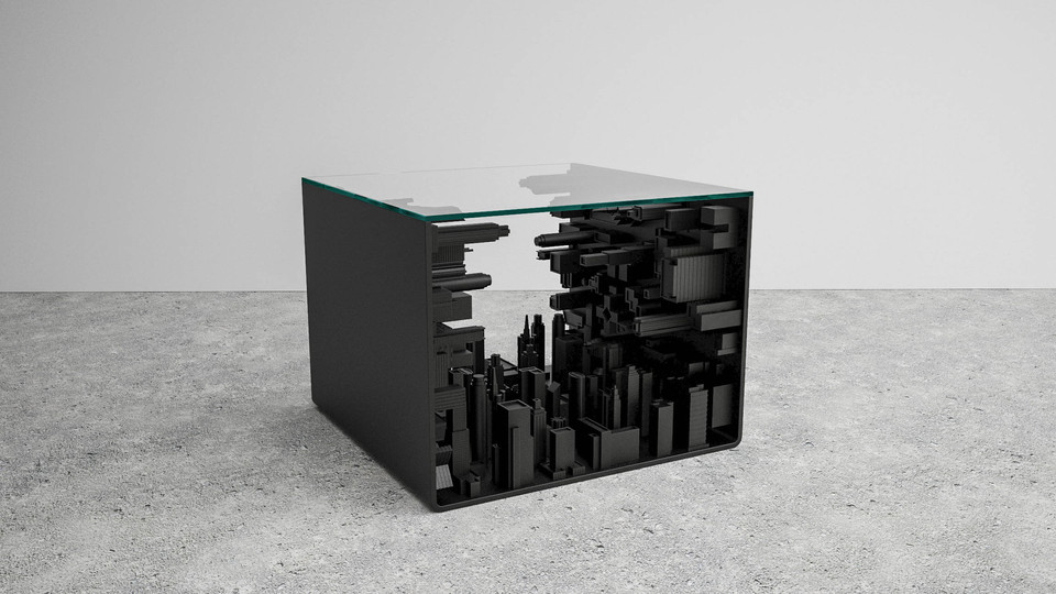 City Cube Table