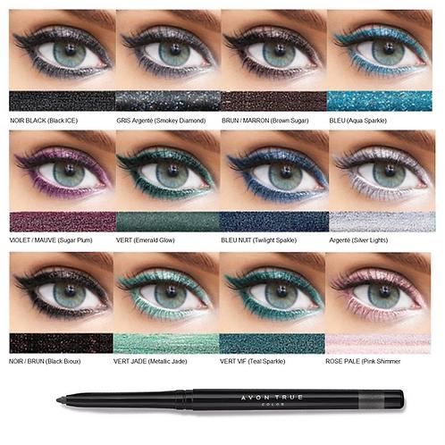 Crayon SCINTILLANT Eye Liner Ligneur Yeux Glimmerstick AVON