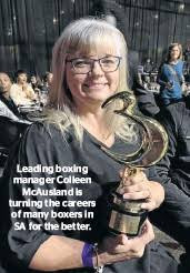 McAusland is changing the careers of many local boxers