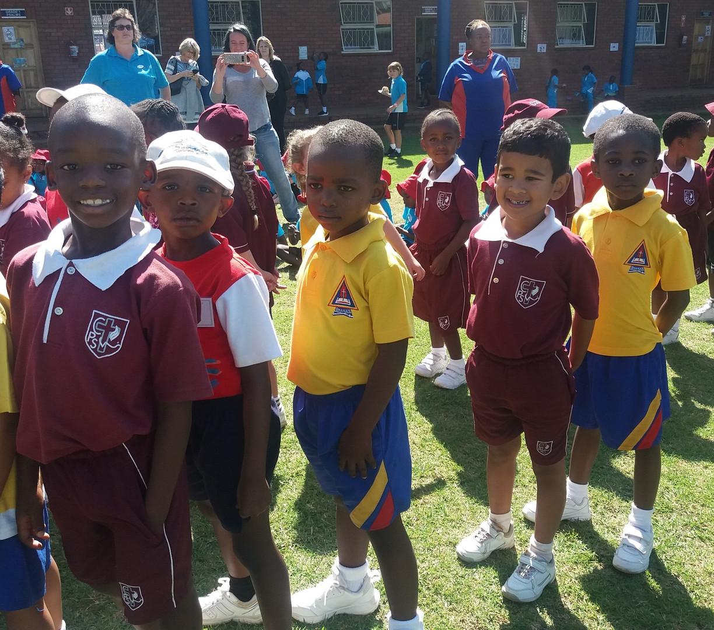 Foundation phase athletics day