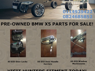 BMW X5 PARTS UP FOR GRABS!