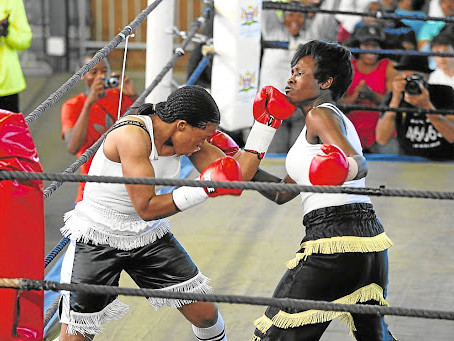 Promoter on the hunt for female boxers