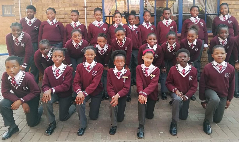 Primary school Eisteddfod participants