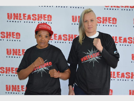 A first for women boxing in South Africa