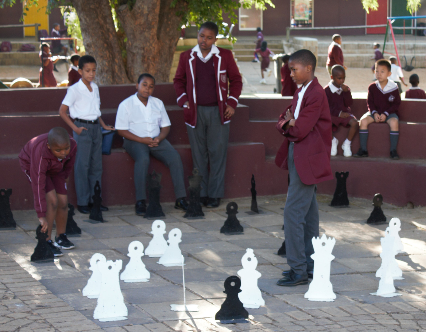 Chess in session