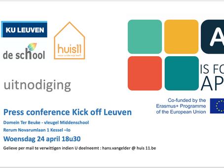 Kick off event at Ter Beuke School