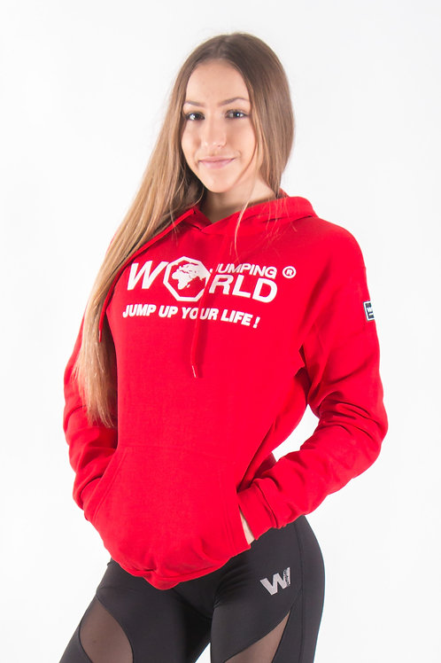 World Jumping Hoodie - Red