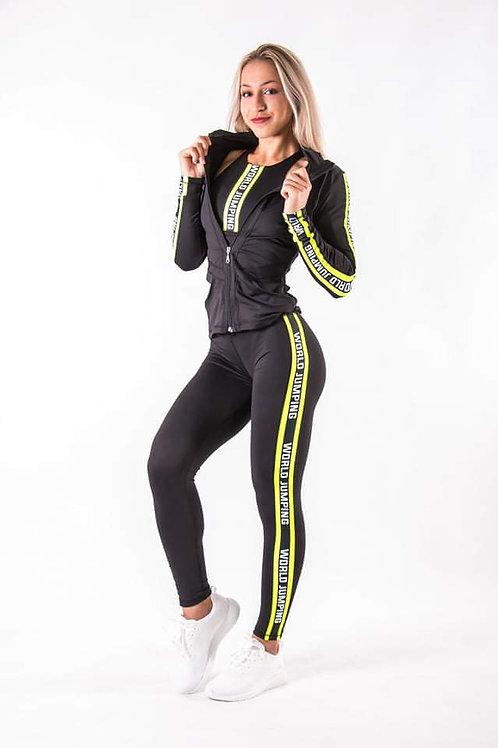 WJ Brand Zip Top Stripe