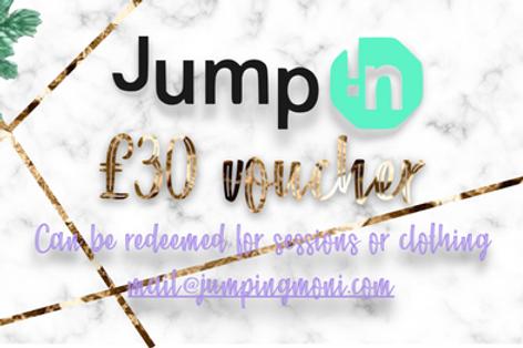 Jump-In Gift Voucher *£30*