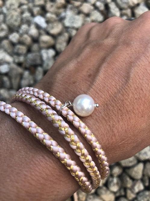Kumihimo & Freshwater / Akoya Cultured Pearl
